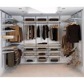 elfa® Wardrobe Kit 12 - White)
