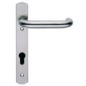 Steelworx 22mm Multipoint Lever - uPVC/Timber - 92mm Centres - Satin Stainless Steel)