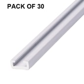 Plain Pile Carrier Bulk Pack - Pack of 30 x 2200mm - Exitex SPCSA - No Pile - White)