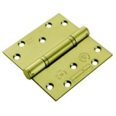 Enduro Triple Knuckle Thrust Hinge - 125 x 102 x 3.5mm - PVD Brass - Pair)