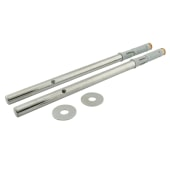 ION Floating Shelf Support Concealed Fixings - 200mm - Pack 2)