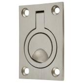 Altro Flush Ring - 62 x 44mm - Satin Stainless Steel)