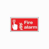 Fire Alarm - 100 x 200mm)
