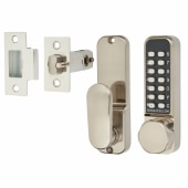 Borg BL2501 Easicode Pro Code Operated Lock with Thumbturn - Stainless Steel)