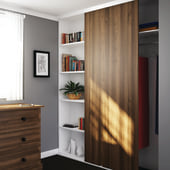 Klug Single Wardrobe Top Sliding Door Kit - 2000mm Track - 30kg)
