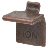 ION Heavy Duty Flat Bookcase Clip - Bronze Plated - Pack 10)