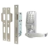 Codelocks CL5020 Electronic Lock - Brushed Steel)