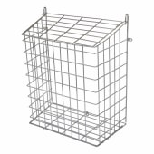 Letter Cage - 360 x 295 x 150mm - Polished Chrome )