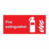 Fire Extinguisher - 100 x 200mm)