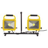 Stanley 2 x 33W COB LED Worklight - Yellow/Black)