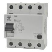 MK 25A 30mA 4 Module RCD)
