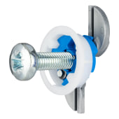 Grip It Plasterboard Fixing - 25mm Hole - M8 x 30mm Screw - Pack of 25)