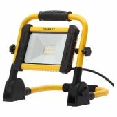 Stanley 240V 20W LED Folding Worklight - Yellow/Black)