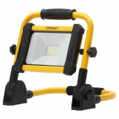 Stanley 18W LED Rechargeable Foldable Work Light - Yellow/Black)