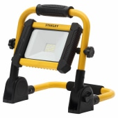 Stanley 8W LED Rechargeable Foldable Work Light - Yellow/Black)