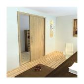 Barrier Loft 2.0 Bi-Passing Sliding Door Softclose Kit For One Door)