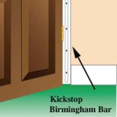 Kickstop Birmingham Bar - 1980 x 16mm - White)