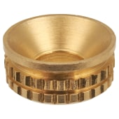 Inset Cup - Suit No. 8 - Brass - Pack 100)