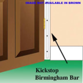 Kickstop Birmingham Bar - 1980 x 16mm - Brown)