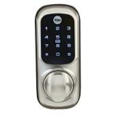 Yale® Keyless Connected Ready Smart Lock - No Module - Satin Nickel YD-01-CON-NOMOD-SN)
