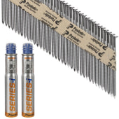 Paslode IM90I Nail - First Fix - 90 x 3.1mm - Bright - Pack 2200)