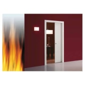 Eclisse Single Fire Pocket Door Kit - 100mm Finished Wall - 626 x 2040mm Door Size)