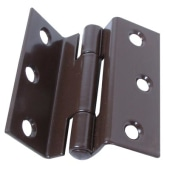Storm Proof Casement Hinge - 63mm - Brown - Pair)