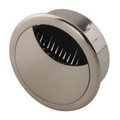 ION Round Cable Tidy - 60mm - Brushed Nickel)