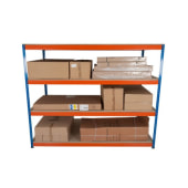 Rapid 1  Commercial Shelving - 420kg - 1980 x 2440 x 455mm)