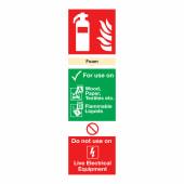Foam Extinguisher - 300 x 100mm)