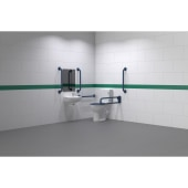 Nymas NymaPRO Close Coupled Doc M Pack - Exposed Fixings - Dark Blue)