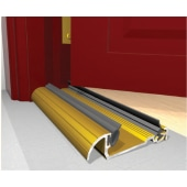 Exitex Low Height Macclex Threshold - 914mm - Inward Opening Doors - Gold)