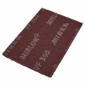 Mirka Mirlon Hand Pad - 152 x 229 x 10mm - Grit Red - Fine - Pack 20)