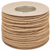 Everlasto No.4 Natural Jute Sash Cord - 6mm - 100M Coil)