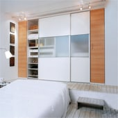 Ducasse 50kg Straight Sliding Cabinet System - 1.5 metres Track)