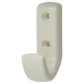 Hoppe Paris Coloured Nylon Coat Hook Face Fix - Diamond White)