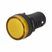 Lewden 22mm Pilot Light - Yellow)