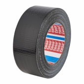Tesa 4613 Multipurpose Universal Cloth / Duct Tape - 48mm x 50m - Black)