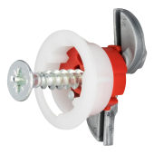 Grip It Plasterboard Fixing - 18mm Hole - 5.0 x 30mm Screw - Pack of 25)