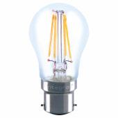 Integral LED 4W Mini Globe Filament Lamp - B22 - 2700K)