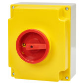 ABB 4 Pole 22kW Double Insulated Enclosure Load Break Switch - IP65)