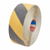 Tesa 60951 Safe Footing Anti-Slip Tape - 50mm x 15m - Black / Yellow)