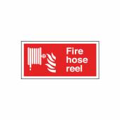 Fire Hose Reel - 150 x 300mm - Rigid Plastic)