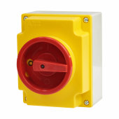 ABB 4 Pole 11kW Double Insulated Enclosure Load Break Switch - IP65)