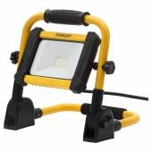 Stanley 240V 10W LED Folding Worklight - Yellow/Black)