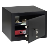 Burg Wachter HomeSafe Key Operated Safe - 278 x 402 x 376mm - Black)