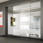Glatt II Sliding Door Kit - 1250mm - 6mm Glass Doors)