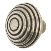 Finesse Circles Cabinet Knob - 44mm - Pewter)