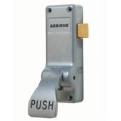 Arrone® AR883 Single Door Push Pad Latch - Silver)