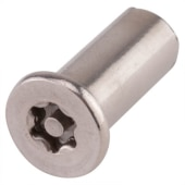Hafren 6-Lobe Barrel Nuts - M4 x 12mm - CSK Head - Pack 50)